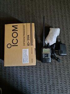 Icom Id 31 A Dstar Ham Radio In New Condition With Hotspot In Original Box