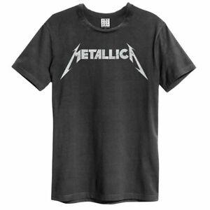 Amplified Metallica Logo Official Merchandise T-Shirt M/L/XL - Neu