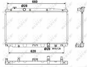 NRF 53194 Kühler Motorkühlung