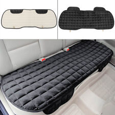 Universal Rear Back Row Car Seat Cover Protector Mat Auto Chair Cushion Black