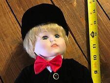 Vintage Seymour Mann 13-14 inch 1985  porcelain, blonde boy (Ronny) doll