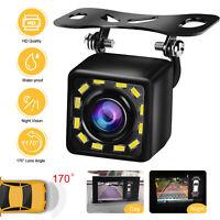Wide HD Night Vision Car Rear View Reverse Backup Parking Camera Waterproof CMOS