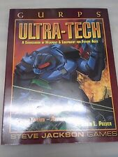 GURPS Ultra-Tech : A Sourcebook of Weapons and Equipment for Future Ages by...