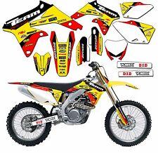 2019-2020 Suzuki Rmz 250 RMZ250 Graphics Aufkleber Sticker Motocross Dekor