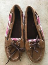 EUC SPERRY Women's / Girls Youth Flat Deck Shoes Top-SIDER Sandals - Size 3.5