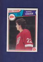 Murray Craven RC 1983-84 O-PEE-CHEE Hockey #120 (NM+) Detroit Red Wings