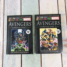 The Ultimate Graphic Novels Collection Marvel Avengers Forever Part 1 and 2