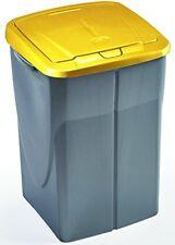 Mondex Müllsortierer 45 Liter mit gelbem Deckel