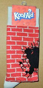 Kool-Aid Man Brick Wall Cotton Unisex Adult Socks One Size