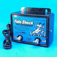 Fido-Shock Pet Deterrent Model SS-725 Electronic Electric Fence Controller 10W