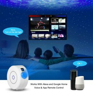 Wireless Smart Waving Sky Starry Projector Night Light Led Colorful APP Control