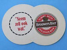 Beer Coaster ~~ Bavaria Brouwerij Brouwers Pilsener Bier ~ Lieshout, Netherlands