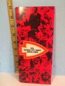 1974 Kansas City Chiefs Pro Football Media Guide