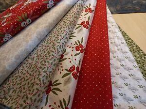 Christmas Morning, Lella Boutique for Moda. 100% Cotton Christmas Fat Quarters