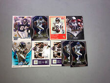Randy Moss Lot of 9 Vikings, Patriots 6 Different Cards Base, Insert