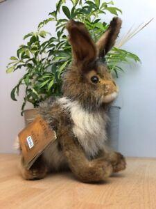 HANSA Plush Rabbit, Blacktail Medium (3754) Portraits of Nature