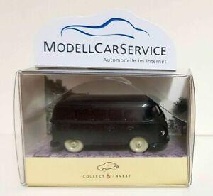 """WIKING Modèle Spécial 1/87 (H0): VW T1 Bus """" 65 Ans """", Noir"""