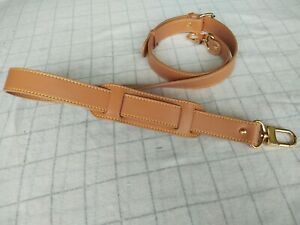 Luxury Crossbody strap replacement 2.5*123cm adjustable real leather bag strap