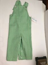 NWT Kellys Kids Lime Check Twill Sz 18 Months
