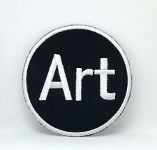 Art Crafts Skill Iron Sew on Embroidered Patch Badge Logo