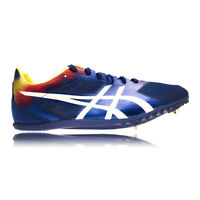 Asics Cosmoracer MD Rio Unisex Blue Running Spikes Track Shoes Trainers