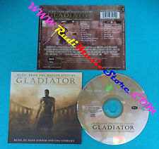 CD Hans Zimmer And Lisa Gerrard Gladiator(Music From The Motion Picture)(OST1)