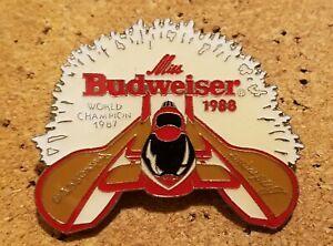 MISS BUDWEISER 1988 WORLD CHAMPION HYDROPLANE RACING PIN