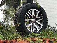 Toyota Hilux SR5 18 Inch Wheels And Falken AT3 Tyres New Set Of 4 265 60 18