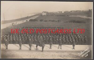 Kent - TANKERTON, WW1 Military  Soldiers in Marine Parade, Real Photo
