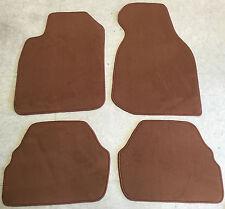 Autoteppiche Fußmatten für Audi A6 C4 quattro braun Velour 4tlg. nicht original