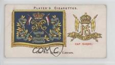 1924 Player's Drum Banners & Cap Badges #19 16th The Queen's Lancers Card 1t5