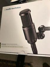AT 2020, Audio-Technica, Condenser Microphone, pop filter & shock mount