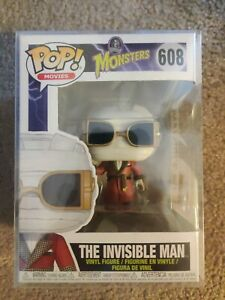 Funko Pop! Monsters 608 The invisible man