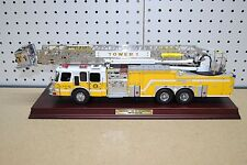 1/32 Franklin Mint Emergency One HP 105 Platform Tower 1 Yellow Fire Truck