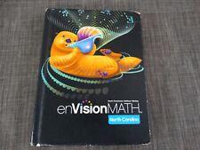 Pearson Envision GRADE 3 MATH COMMON CORE Hardcover Text Book