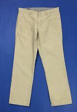 Garment dyed jct man w36 tg 50 pantalone straight slim usato chino beige T2991