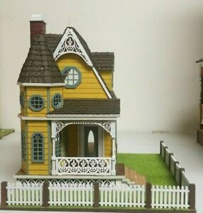 Jasmine 2 Gothic Victorian Cottage Dollhouse (1:48 scale)