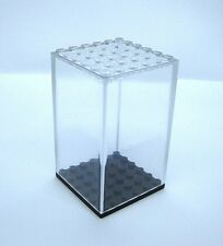 Display Case for Lego Minifigures -6x6 size- NEW! Clear, Dust Free!