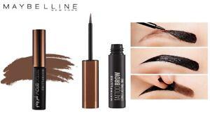 3 X Maybelline New York Tattoo Brow Eyebrow Gel Tint - Medium Brown
