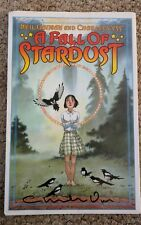 A Fall of Stardust by Neil Gaiman. Signed by Charles Vess.  With Mignola print