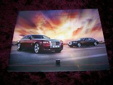 Rolls-Royce Ghost Brochure 2014