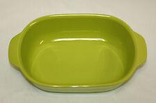 Corning Ware Lime Green Stoneware 1.5 Quart Casserole - Excellent Condition