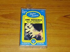 """Jimi Hendrix """"The Last Experience"""" Cassette Tested Final Live Performance"""