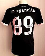 Palermo 2013-2014 Third football Match  worn shirt Morganella autograph