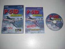 P-51D Mustang PC CD ROM add-on di espansione MICROSOFT Flight Simulator X FS Cockpit
