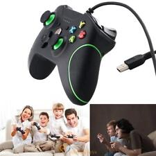 USB Wired Game Controller Gamepad with Dual Vibration for Microsoft Xbox One