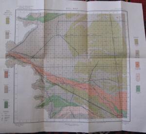 Color Soil Alkali Map San Luis Valley Colorado Monte Vista Del Norte Mosca 1903