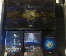 STARCRAFT II 2 Legacy of the Void collector's edition box& behind the scenes dvd