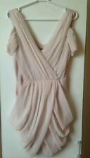 LIPSY beautiful evening prom wedding party peach dress size 12 BNWT RRP £ 50