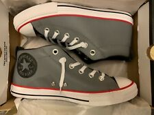 4af9f740515 Converse Mid Street Gray Leather For Kids Size 5 Junior 661888C